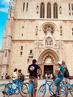 Zagreb bike tours to see all the must-sees