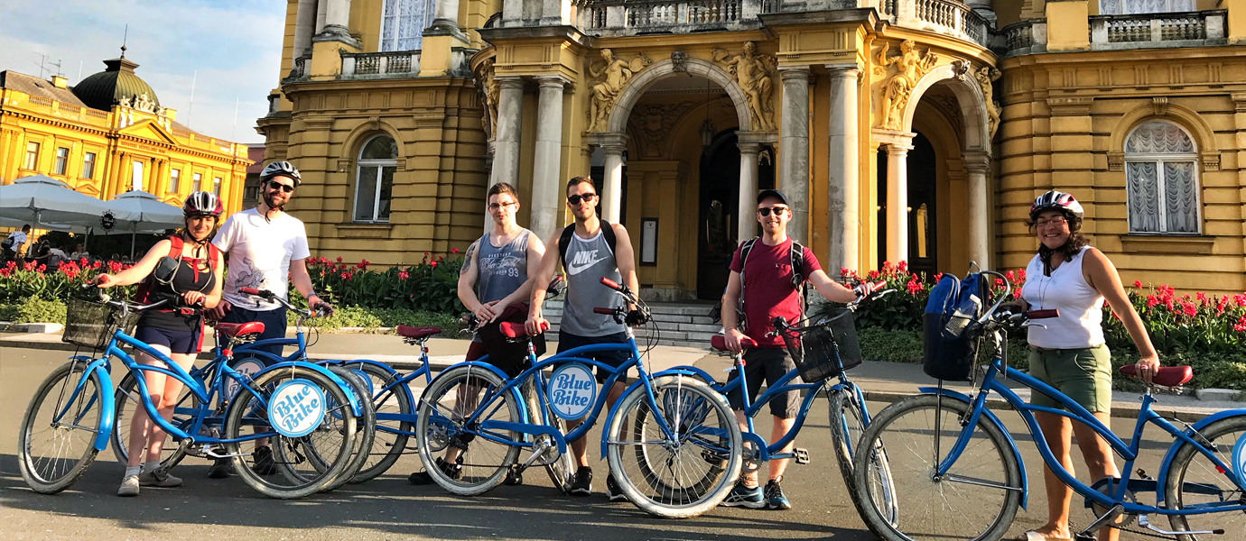 Zagreb bike tour - Blue Bike, your best friend in Zagreb