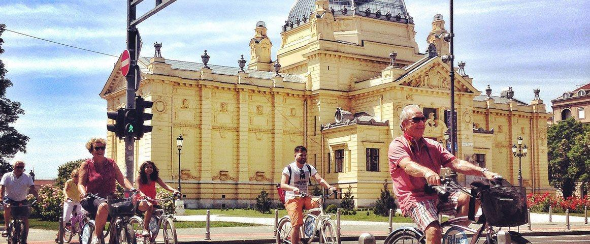 Zagreb bike tour - ideal way to get introduced to the city