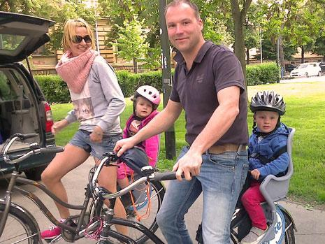 Family holiday and bike tour in Zagreb